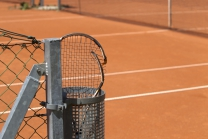 Tennisplatz / Tennisschläger / Parkclub Igls