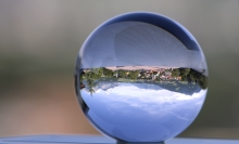 Kristall Glaskugel von Swarovski / Innsbruck/Igls