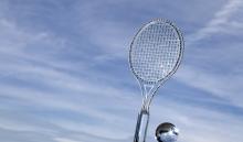 Kristall Tennisschläger von Swarovski