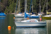 Achensee, Tirol / Segelboote