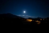 Mondfinsternis / Blutmond / Innsbruck