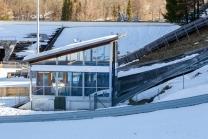 Skisprungschanze / Garmisch-Partenkirchen