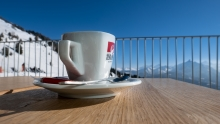 Kaffee am Berg