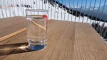 Glas Wasser, Mineralwasser