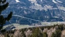 Europabrücke, Brenner Autobahn