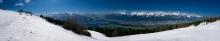 Innsbruck, Nordkette, Tirol, Austria / Panorama