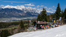 Tee Hütt´n am Patscherkofel, Tirol, Austria