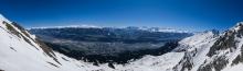 Innsbruck, Seegrube, Tirol, Austria / Panorama