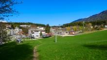 alte Patscherkofelbahn Talstation Igls, Innsbruck, Tirol, Austria
