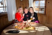 Hannah, Melissa Naschenweng mit Lilly Staudigl,