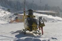Rettungshubschrauber vom ÖAMTC