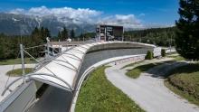 Bobbahn Innsbruck-Igls, Tirol, Austria