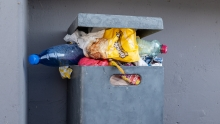 Mülleimer, Müllkübel, Abfalleimer, Müll