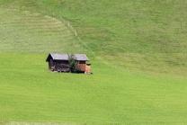 Heustadel im Stubaital, Tirol, Austria
