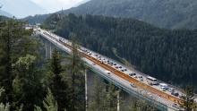 Europabrücke, Tirol, Austria / Brennerautobahn A13