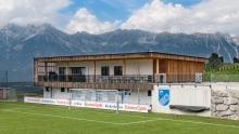 Fußballplatz / Clubhaus / SPG Patsch/Ellbögen