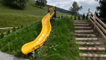 Rutsche, Spielplatz / Patsch, Tirol, Austria