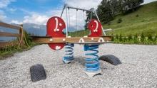 Federwippe, Spielplatz / Patsch, Tirol, Austria
