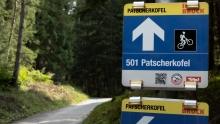 Mountainbikeroute von Patsch auf den Patscherkofel