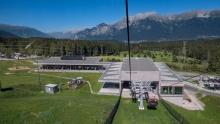 Patscherkofelbahn Talstation, Igls, Innsbruck, Tirol, Austria