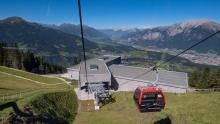 Patscherkofelbahn Mittelstation, Igls, Innsbruck, Tirol, Austria