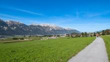 Vital-Radweg, Sistrans, Tirol, Austria