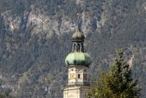 Jesuitenkirche in Hall in Tirol, Austria