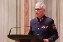 Erwin Vögele - Pressesprecher und Veranstaltungsmanagement Landespolizei Tirol