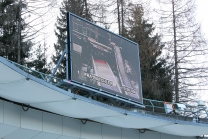 Bobbahn Innsbruck-Igls, Tirol, Austria / Videowand