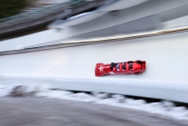 Bobbahn Innsbruck-Igls, Tirol, Austria / 4er Bob