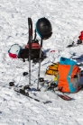Skiausrüstung, Skitourenausrüstung