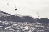 Skigebiet Kühtai, Tirol, Austria