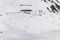 Bergstation Hochalterbahn, Skigebiet Kühtai, Tirol, Austria