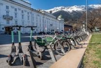 Stadtrad, E-Scooter / Rennweg, Innsbruck, Tirol, Austria