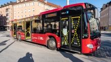 IVB Bus / Innsbruck, Tirol, Austria