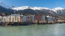 Inn / Mariahilf, Innsbruck, Tirol, Austria