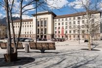 Neues Landhaus, Landhausplatz, Innsbruck, Tirol, Austria
