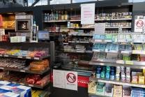 Infektionsschutz / Tankstelle Aldrans, Tirol, Austria
