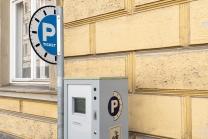 Parkscheinautomat / Innsbruck, Tirol, Austria