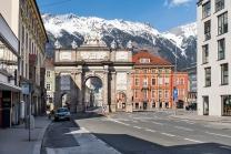 Triumphpforte, Innsbruck, Tirol, Austria