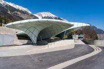Hungerburgbahn Bergstation / Innsbruck, Tirol, Austria