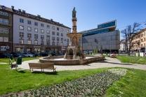 Bozner Platz, Rudolfsbrunnen / Innsbruck, Tirol, Austria