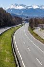 Inntalautobahn A12 bei Innsbruck, Tirol, Austria