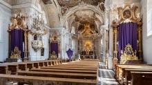 Wiltener Basilika, Innsbruck, Tirol, Austria / Osterwoche