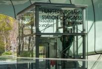 Hungerburgbahn Talstation, Station Congress, Innsbruck, Tirol, Austria