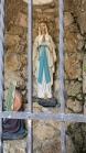 Lourdes-Grotte, Wallfahrtskirche Heiligwasser, Patscherkofel, Igls, Innsbruck, Tirol, Austria