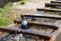Bier im Brunnen / Arzler Alm, Nordkette, Innsbruck, Tirol, Austria