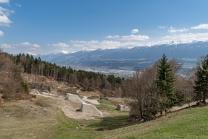 Lawinenverbauungen / Arzler Alm, Nordkette, Innsbruck, Tirol, Austria