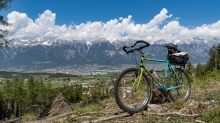 altes Mountainbike von Specialized / Sistrans, Tirol, Austria