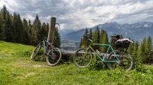 Mountainbikes / Patscherkofel, Tirol, Austria